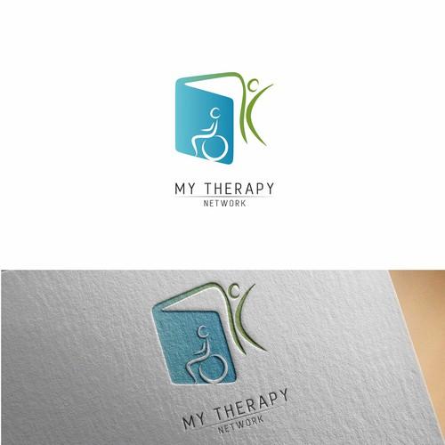 Logo concept for health education start up