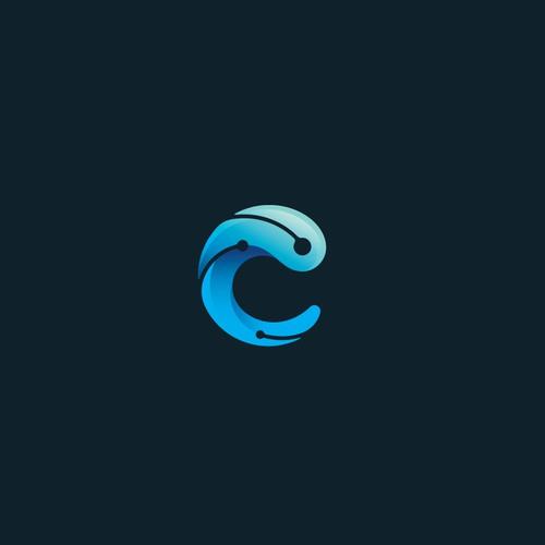 Tech Wave Lettermark