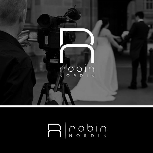 sleek logo for Robin Nordin