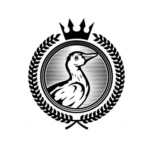 Logo for a timeless vodka brand