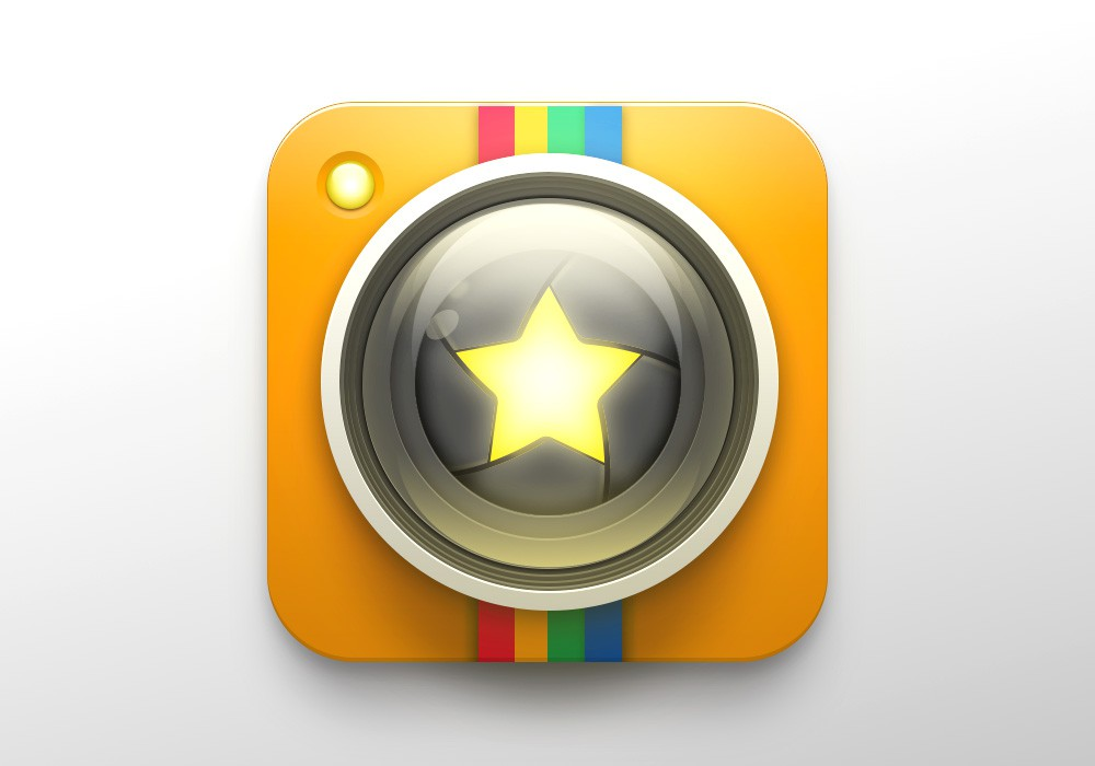 Icon Design Needed for iOS Camera & Rating App