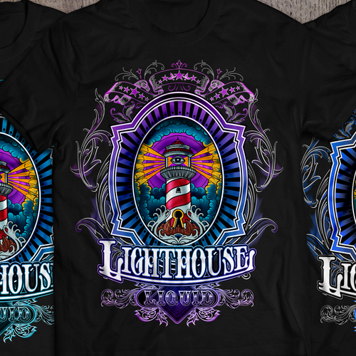 Create a new shirt for Lighthouse Liquids