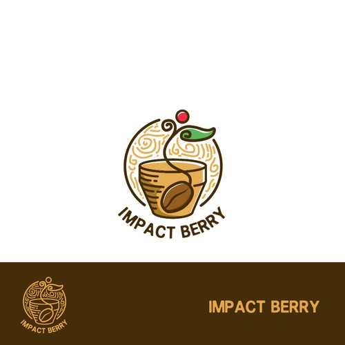 Playful Logo for Impact Berry