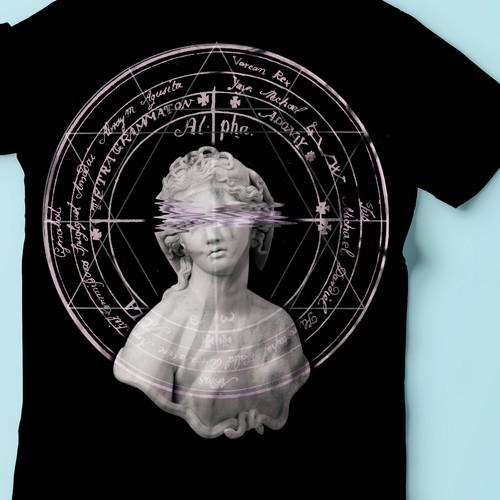 Occult t-shirt design