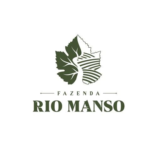 Logo for the  Fazenda Rio Manso