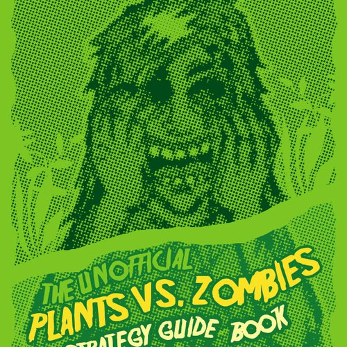 Kindle ebook Cover: Plants vs Zombies Strategy Guide Book