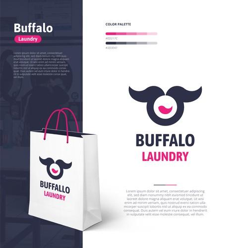 Buffalo Laundry Logo Design Inspirations