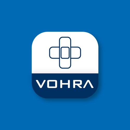 Vohra Medical App Icon Design