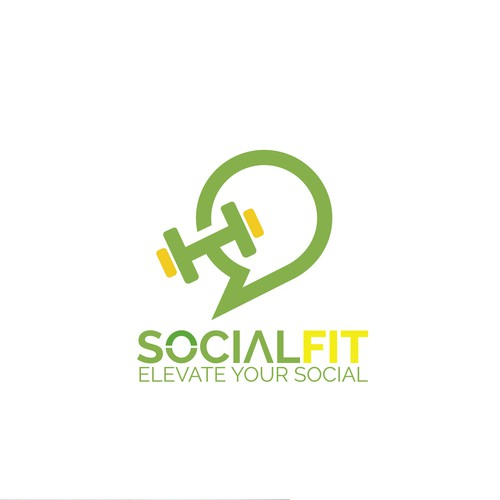 Great social Fitness Logo