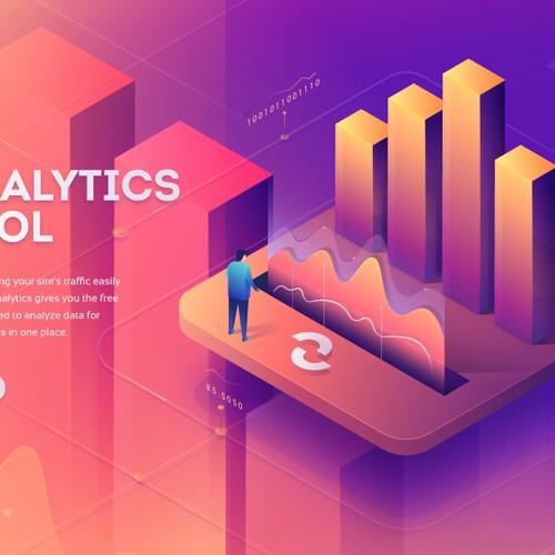 Illustration for analytics tool