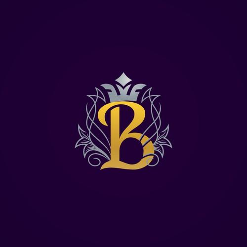 """B"" monogram for sale."