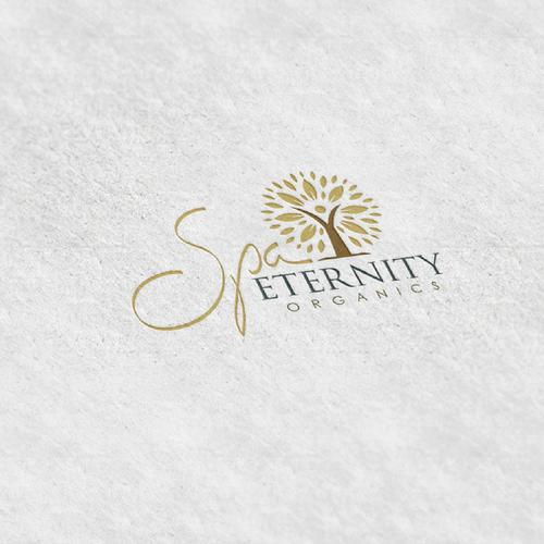 great logo for Spa Eternity Organics