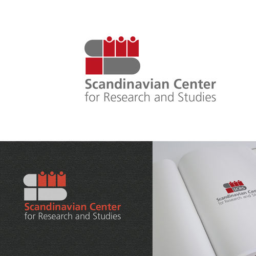 Logo for a research center