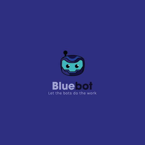 Bluebot - Logo Concept