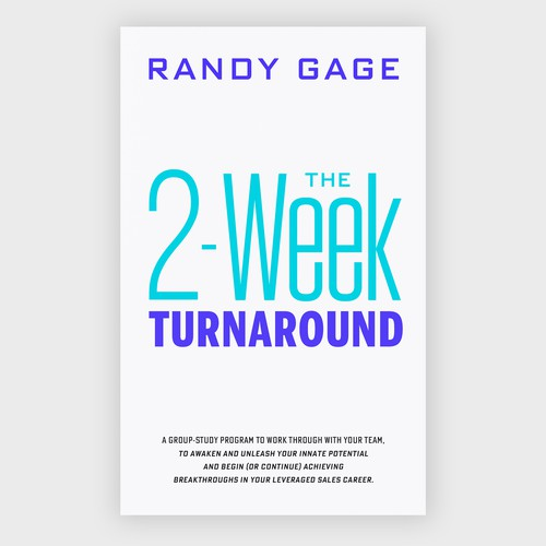 Ebook cover design - The 2-Week Turnaround