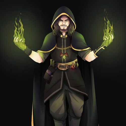 Dungeon Master Fantasy Character
