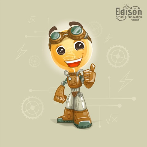 Character design for Edison School