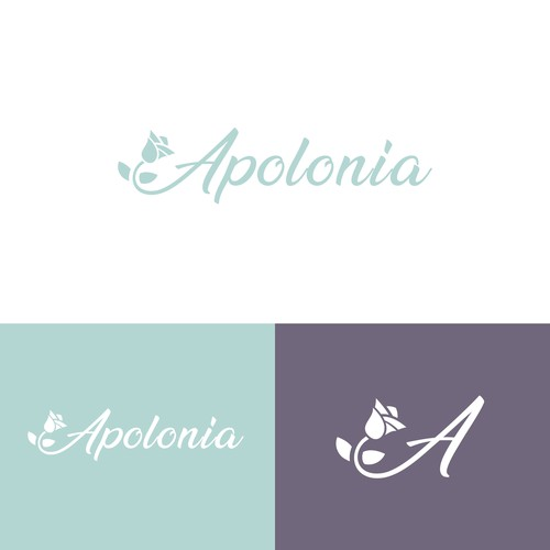 Elegant logo for a body care products business.