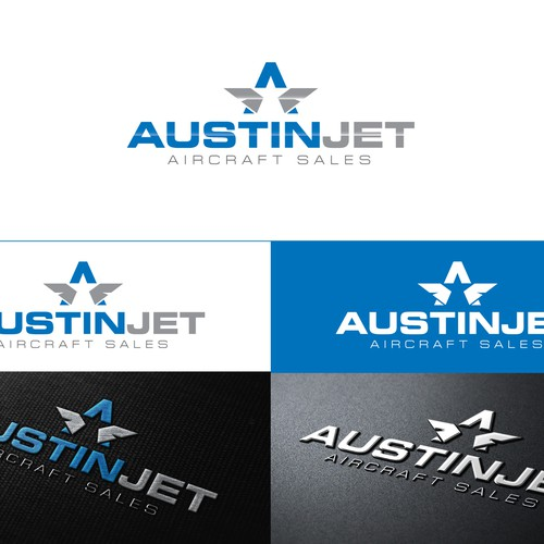 Create a new Logo for Austin Jet Aircraft Sales