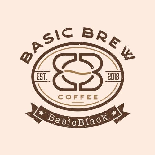 Vintage Logo Basic Brew