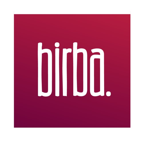 Design a logo for a small wine bar in SF, birba.
