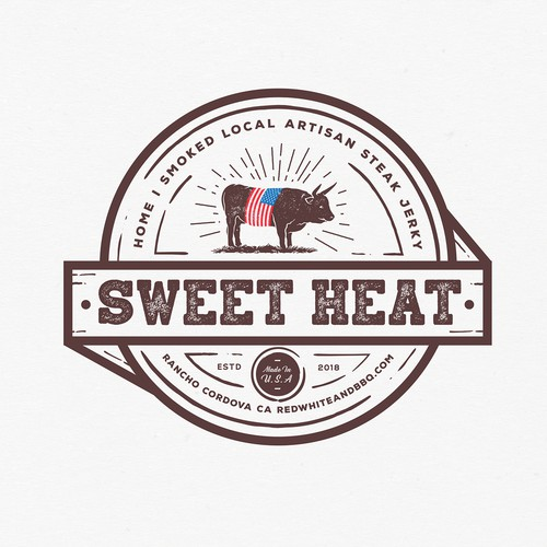 Sweet heat steak jerky