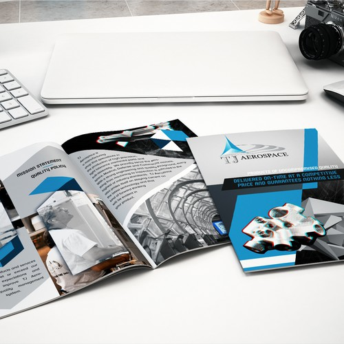 Professional Brochure for the Aerospace and Defense Industry