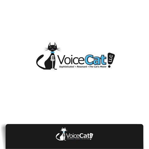 THIS cool Cat has a great Voice! Now needs a great logo for Voice Cat LLC, to come to life!