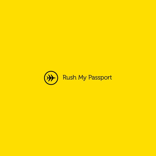 Logo for Rush My Passport