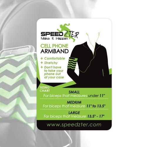 speedzter armband sticker
