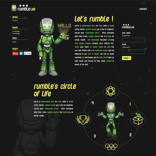 mascot rumble lab