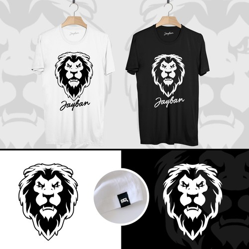 Head Lion Design Logo