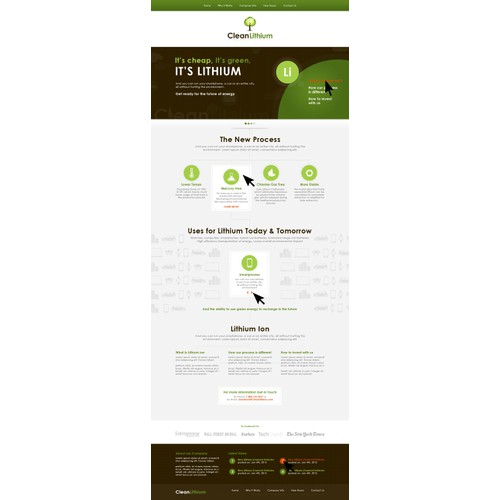 Green Concept for Website