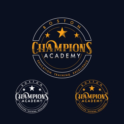 Logo proposal for a sports academy