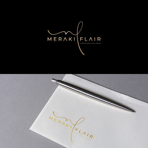 Logo Design Meraki Flair