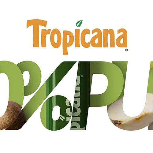 Tropicana Label Design & Poster Layout