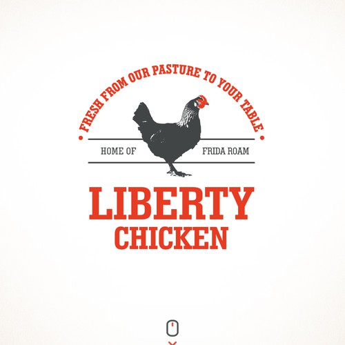 logo concept for Liberty Chicken