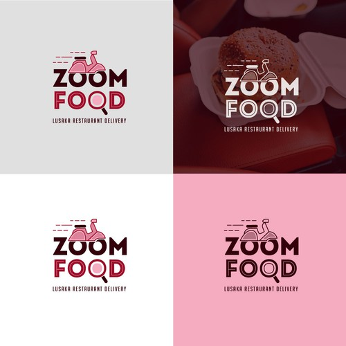 Cute logo for a food delivery service