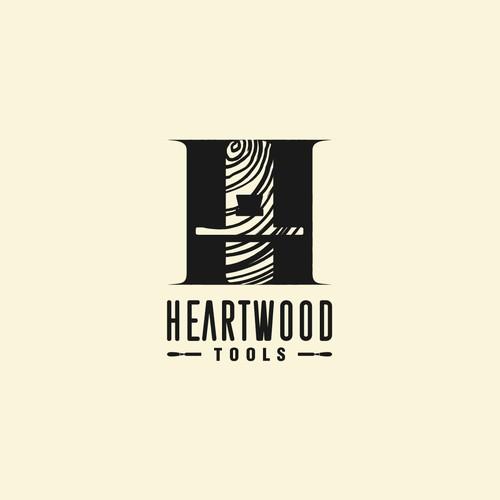Heartwood Tool Logo Designs Concept