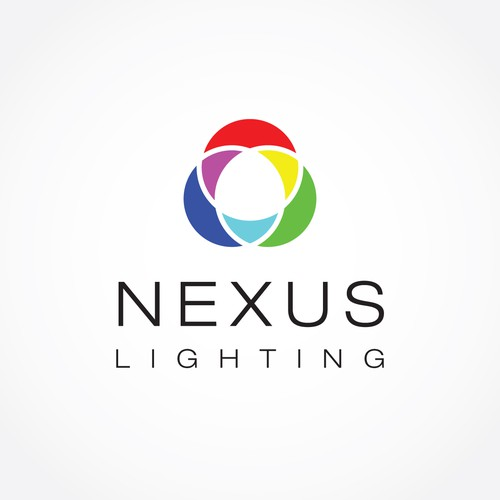 Lighting company branding