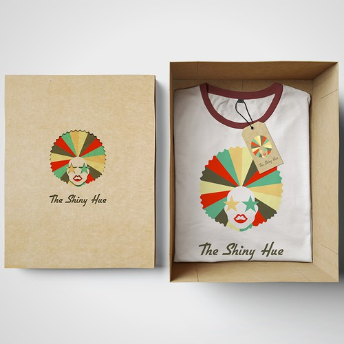 Funky logo for online fashion store