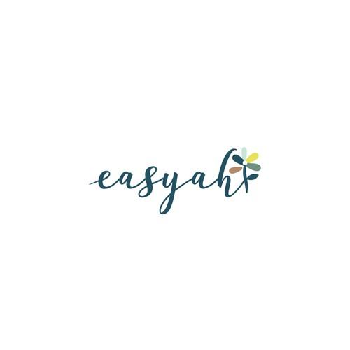 A organic and feminine logo