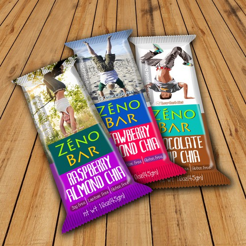 Packaging Designs for Zeno Bar