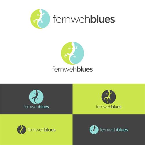 logo for fernwehblues