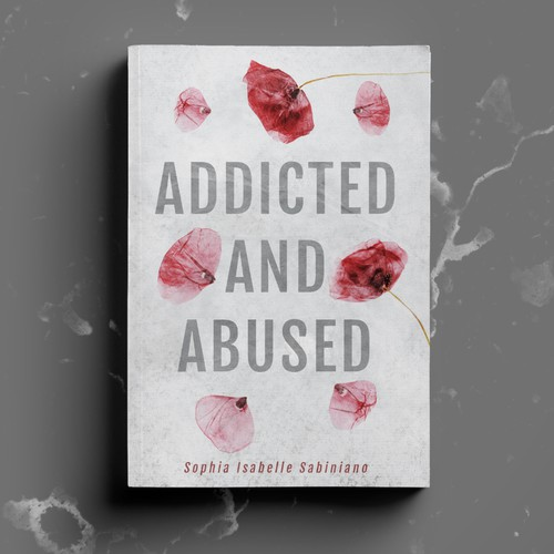Delicate cover for a non-fiction book about trauma and healing