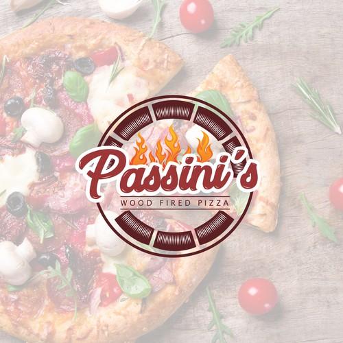 passini's wood fired pizza