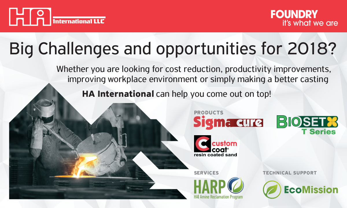 Half page ad - Big Challenges and opportunities for 2018?