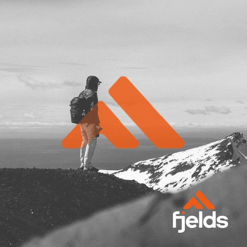 Logo concept for outdoor clothing brand