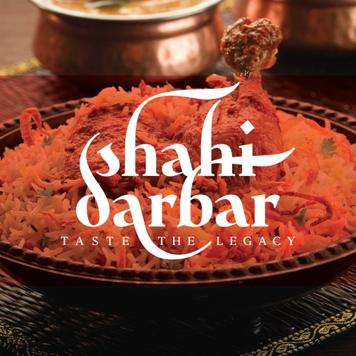 "Create a classic yet powerful vintage logo for Great food lovers of ""Shahi Darbar"""