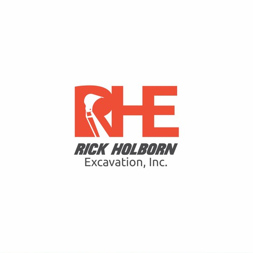 Logo Rick Holborn Excavation